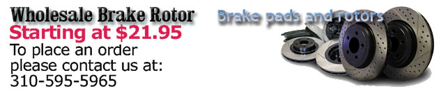 Protect your car with a custom Wholesale Brake Rotor